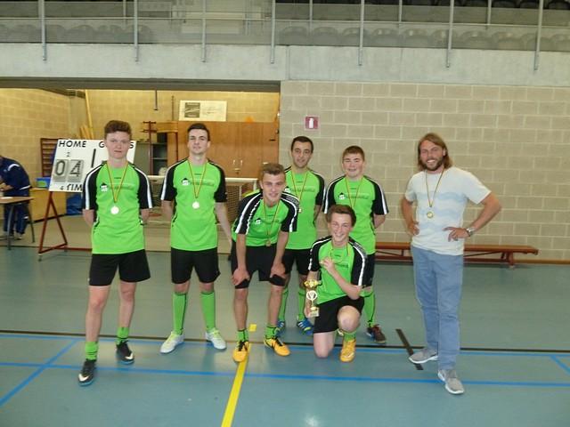 thumbnail-Houtlandinstituut provinciaal kampioen minivoetbal
