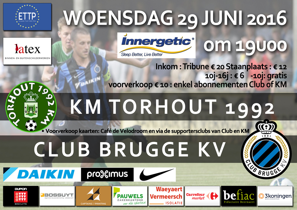 thumbnail-Torhout KM opent tegen Club Brugge op woensdag 29 juni