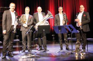thumbnail-Belgian Brass Quintet op Apero Con Fuoco