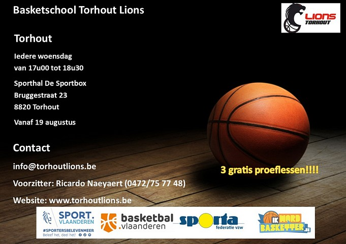 thumbnail-Basketbal in Torhout