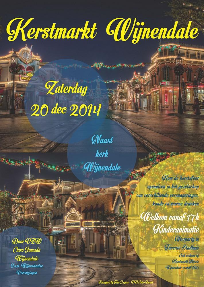 thumbnail-Wijnendaalse kerstmarkt aan de kerk van Wijnendale